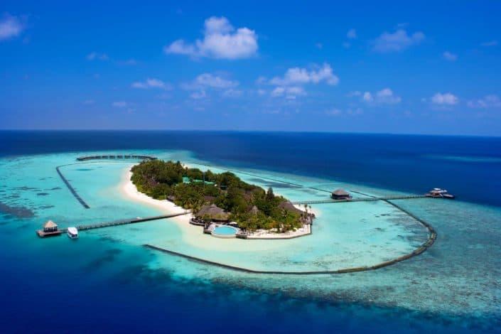 Komandoo Island Resort & Spa Insel