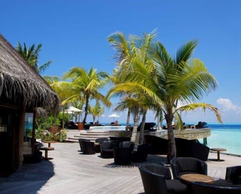 Komandoo Island Resort & Spa Kandu Bar Aussenansicht