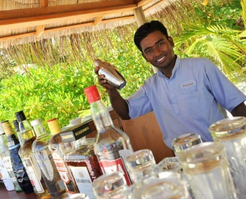 Komandoo Island Resort & Spa Thundi Bar Cocktail