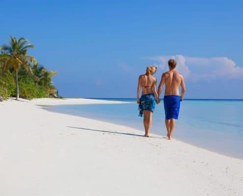 Komandoo Island Resort & Spa Traumstrand